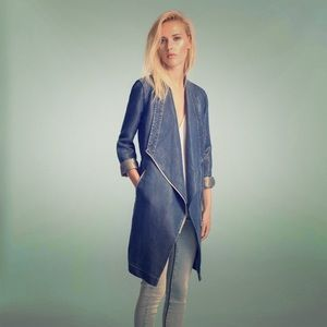 Stefie denim trench XS